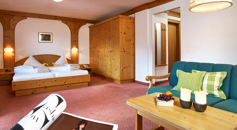 Doppelzimmer Standard Alpenhotel Linserhof Imst Tirol