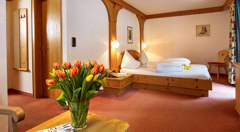 Doppelzimmer Superior Alpenhotel Linserhof Imst Tirol