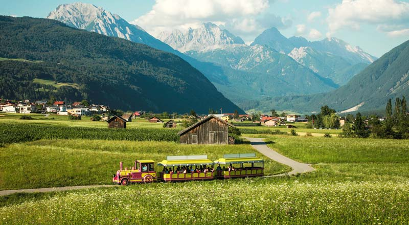 ©Imst Tourismus Bummelzug