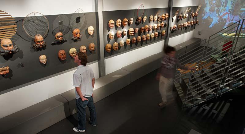 Masken in Haus der Fasnacht ©Martin Lugger