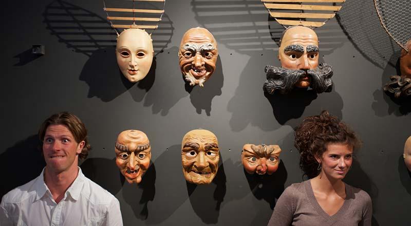 Masken im Haus der Fasnacht ©Martin Lugger