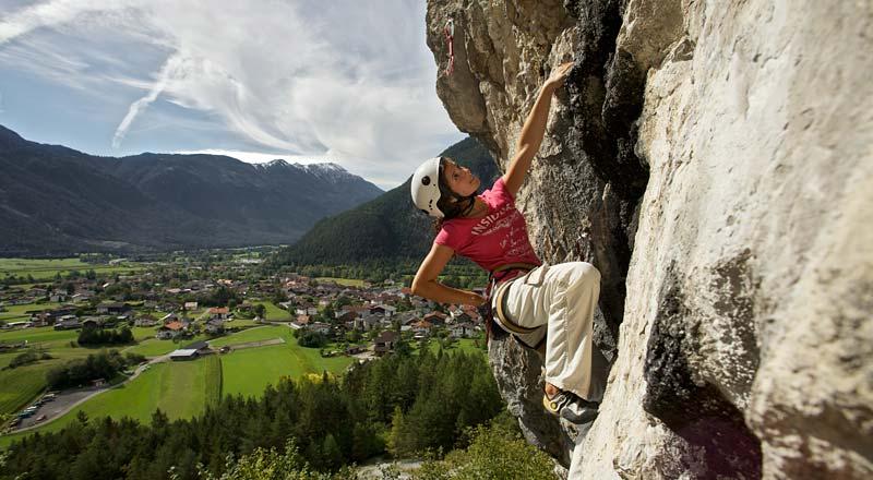 ©Imst Tourismus Martin Lugger - Klettern Imst Tirol