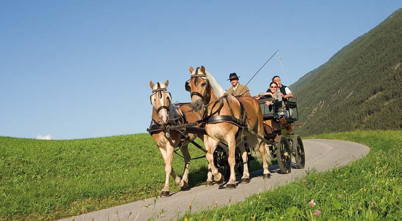 ©Imst Tourismus Kutschenfahrt - Wochenprogramm