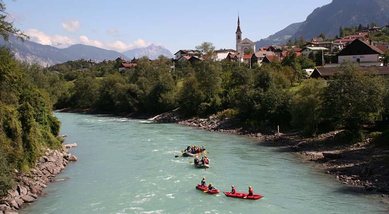 ©Imst Tourismus Griogoriani- Rafting Imst Tirol