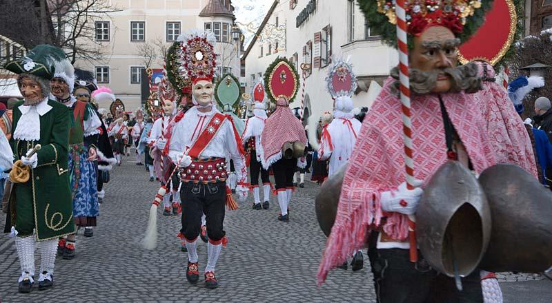 ©Imst Tourismus Melitta Abber - Fasnacht Imst Tirol
