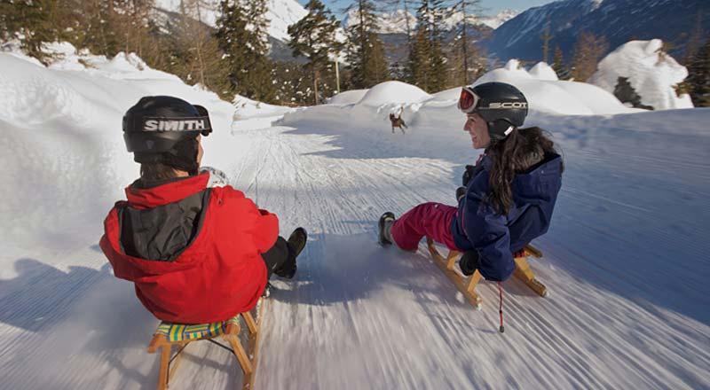 ©Imst Tourismus Martin Lugger - Rodeln Imst Tirol