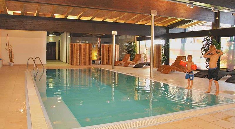 Indoor Pool Alpenhotel Linserhof Imst Tirol