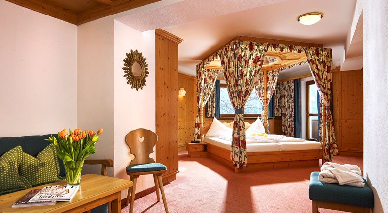 Honeymoon Suite Alpenhotel Linserhof Imst Tirol