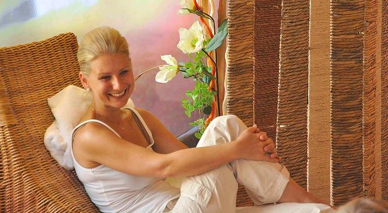 Relaxliegen Alpenhotel Linserhof Imst Tirol